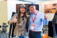 With Peter Luha - Musikmesse 2016